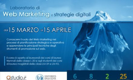 Laboratorio di Web Marketing e strategie digitali